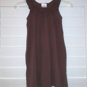 Hanna Andersson girls Sleeveless Dress Jumper sz 6